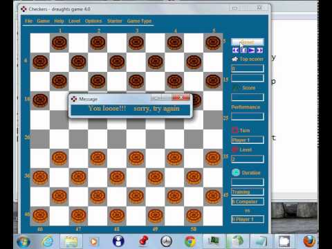 Checkers game is draughts