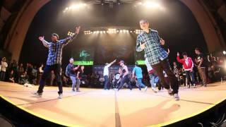 POWERMOVE CONSPIRACY vs FOUND NATION - Crew Quarter Final (UK B-Boy Champs World Finals 2011)