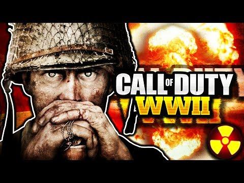 "Call of Duty: WORLD WAR 2 ☢ ATOMIC BOMB ☢ - ""NUKE KILLSTREAK IN COD WW2"" (Call of Duty WWII Nuclear)"