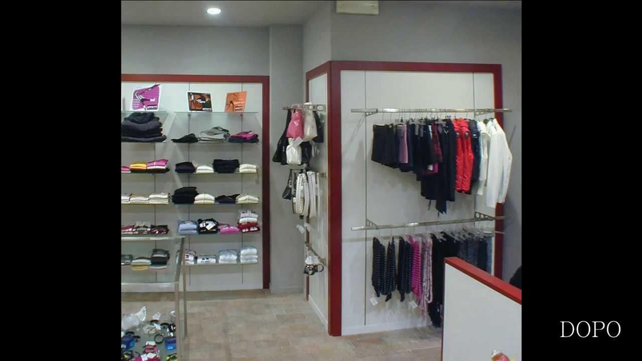 Arredamento negozio abbigliamento donna giovane ekip for Arredamento negozi roma