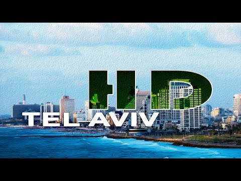 TEL AVIV , ISRAEL - A WALKING TRAVEL TOUR - HD 1080P