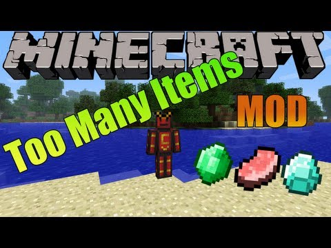 Minecraft 1.5.2 - Descargar e instalar Too Many Items MOD [HD]
