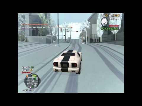 [DL] Snow Mod + Snowfall | GTA San Andreas | Winter 2013-2014 [720p HD]