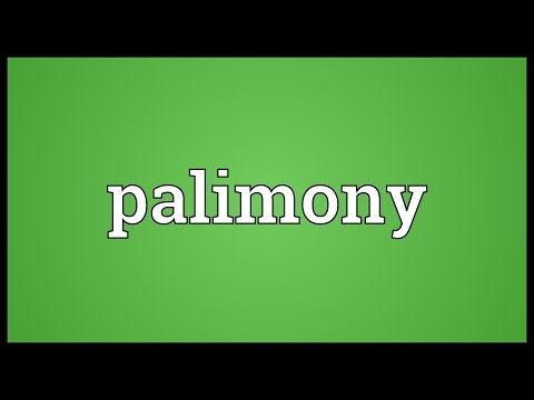 Header of Palimony