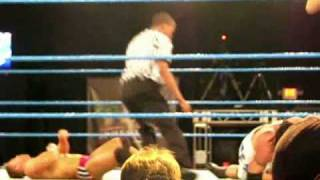 Tyler Rex and Melina Vs Alicia Fox and DJ Gabriel MarcusPitt.com Exclusive