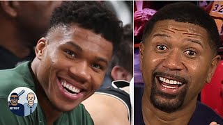 Giannis is 'the unstoppable object of the NBA,' he's that dominant! - Jalen Rose | Jalen and Jacoby
