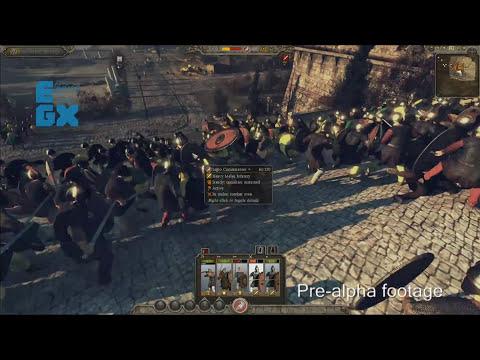 Total War: ATILLA - PC GAMEPLAY [EGX 2014]