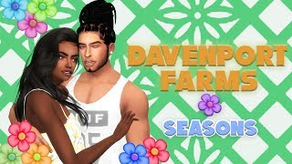 NEW LP 💐The Sims 4 Seasons💐Davenport Farms | Story and Build