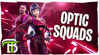 OpTic SQUADS RAMPAGE (Fortnite Battle Royale)