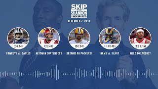 UNDISPUTED Audio Podcast (12.07.18) with Skip Bayless, Shannon Sharpe & Jenny Taft   UNDISPUTED