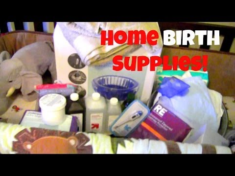Home Water Birth Supplies!