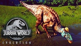 Jurassic World Evolution - Part 1 – Runaway Edmontosaurus!