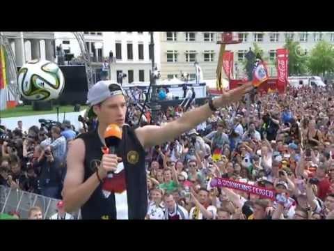 2014 WM Empfang Brandenburger Tor / 2014 World Cup Reception Brandenburg Gate