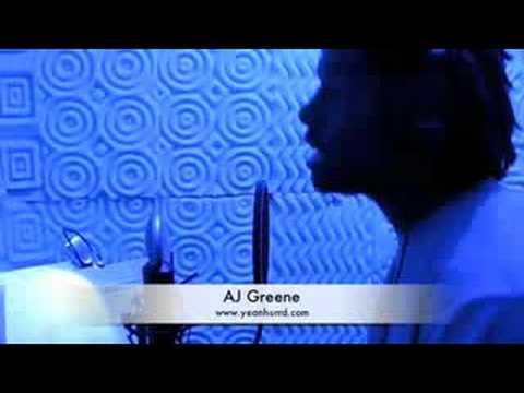 AJ GREENE ON THE MIC
