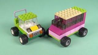 LEGO Car (029) Building Instructions - LEGO Bricks How To Build - DIY