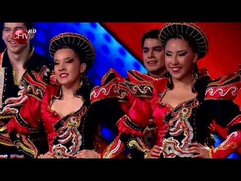 El grupo Trapem de Rancagua trae toda la energía de la danza caporal - TALENTO CHILENO 2014