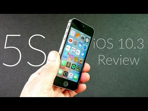 iPhone 5S iOS 10.3 Review!