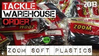 Tackle Warehouse Order- Zoom Soft Plastics (2013)