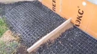 Как сделать отмостку вокруг дома из плит
