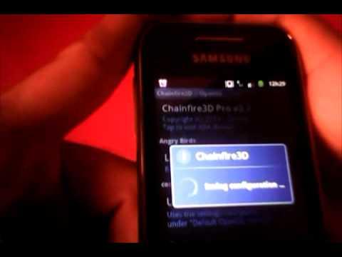 Como Rotear Sansung Galaxy Y 5360B Android 2.3.5 e 2.3.6 e Instalando Chainfire 3D