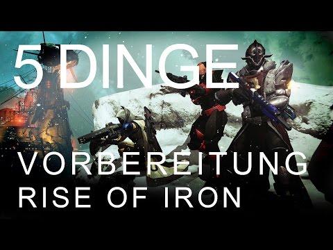 Destiny - 5 Dinge als Vorbereitung für Rise of Iron