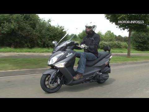Essai SYM GTS 300 ABS 2013