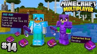 RAREST FISHING LOOT in Minecraft Multiplayer Survival! (Episode 14)
