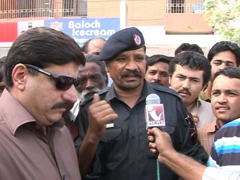 INDUS NEWS Chand Nawab (MOBILE Snatching EncounterDefence Karachi)Report.mpg