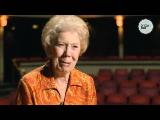 Dame Janet Baker on Britten