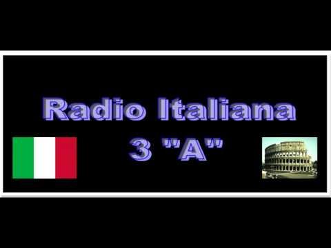 """Radio Italiana 3 """"A"""""""