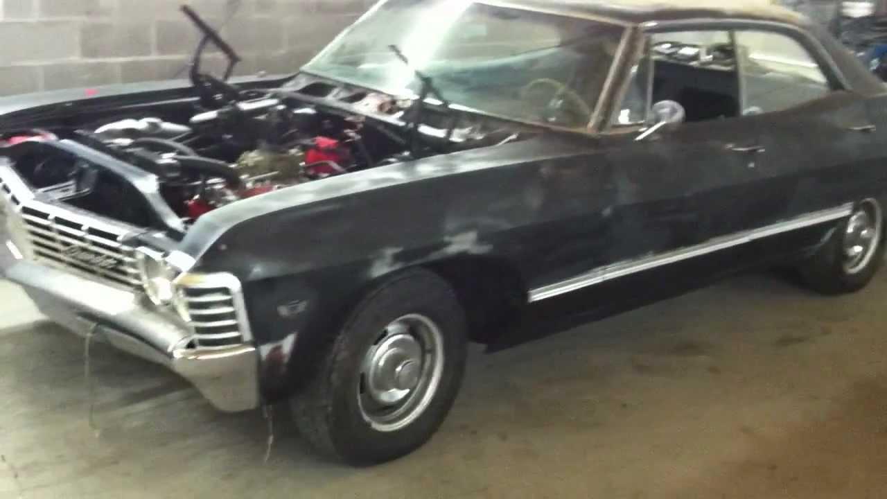 67 Impala 4 Door Hardtop Supernatural Impala Clone Project