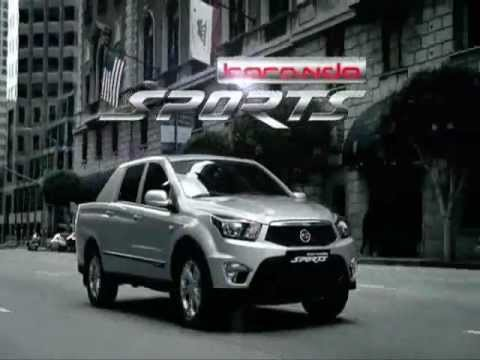 New Ssangyong Actyon Sports (Korando Sports)