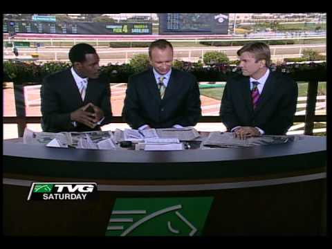 TVG announcer wins big Kentucky Derby bet.  Insane reaction shown on-air.