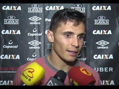 Entrevista Pós-jogo: Sport X Atlético Paranaense - Raphael Veiga
