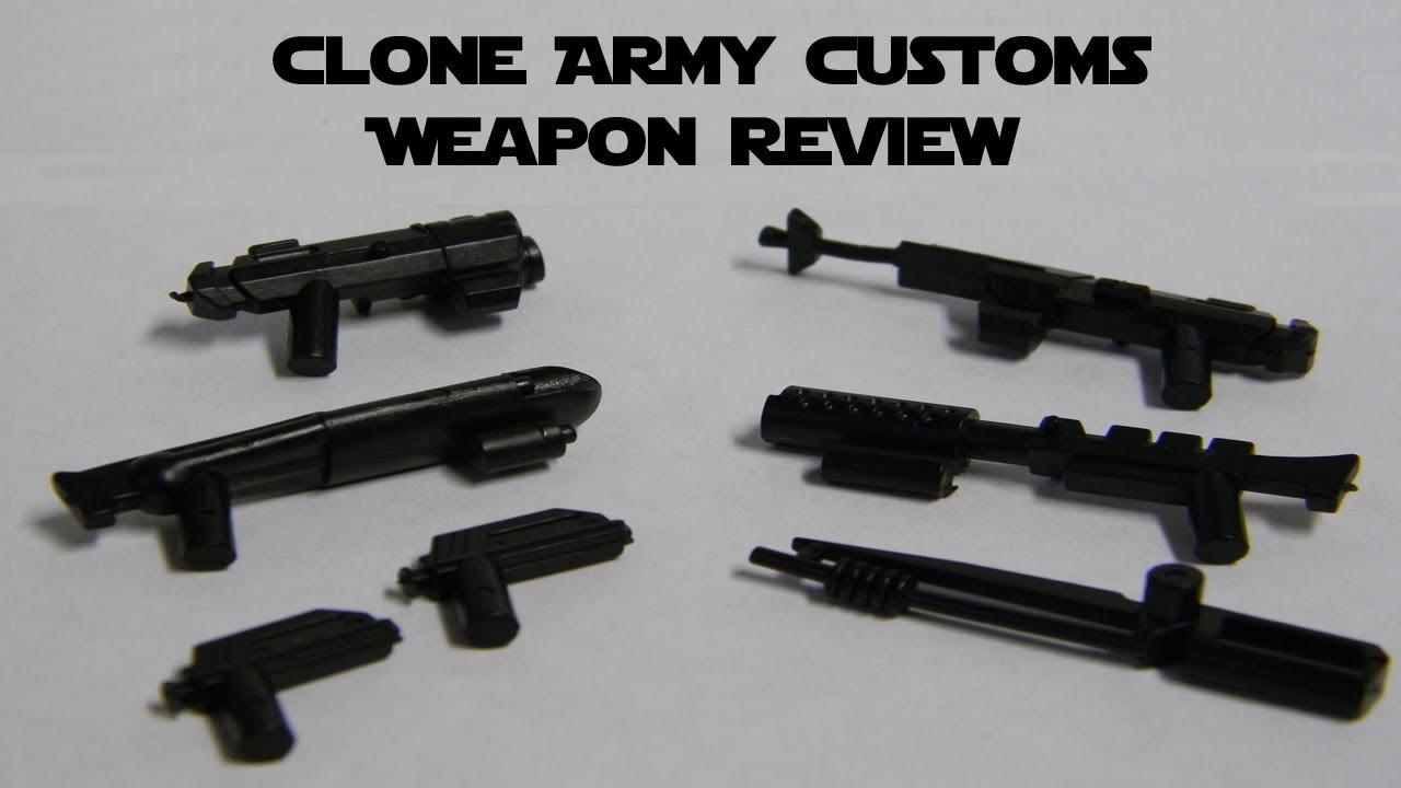 Lego Star Wars Custom Guns Lego Star Wars Clone Army