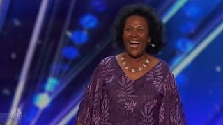 America's Got Talent 2016 Tita Begashaw Laughter Coach Full Audition Clip S11E02