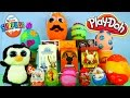 Play Doh Eggs Kidrobot Chaos Bunnies MLP Disney Vinylmation Cars Planes Toys Kinder Surprise Egg