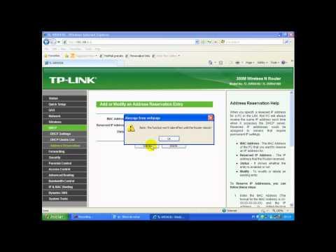 Configurando SECO - SDVR no roteador TPLink