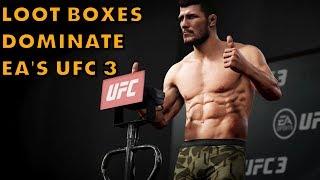 EA Strikes Again: UFC 3 Is A Loot Box Monster