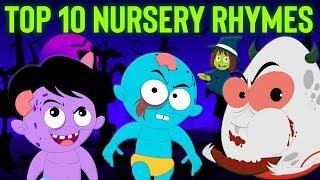 top 10 vườn ươm vần điệu   Top 10 Nursery Rhymes   Hello Halloween Vietnam   nhac thieu nhi hay nhất