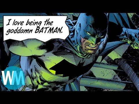 Top 10 Dumbest Batman Comics