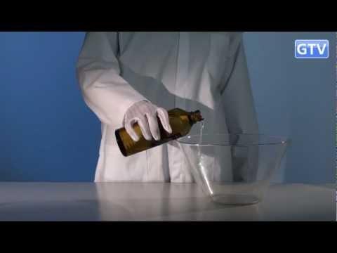 ПЕНОПЛАСТ И АЦЕТОН - химический опыт
