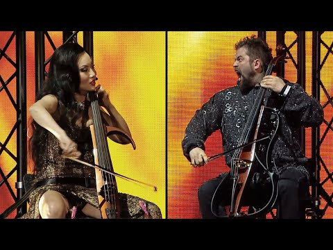 HAVASI - Tina Guo - Peter Pejtsik Cello Battle (Symphonic Arena Show)