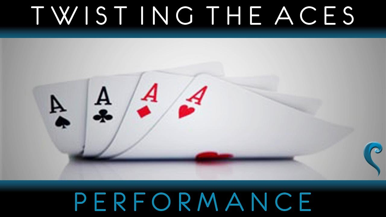 Magia Carte Twisting The Aces