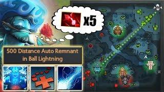 The Next LVL Drawing on Minimap [Ball Lightning + X Marks the Spot] Dota 2 Ability Draft
