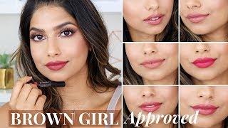 My 7 Lipsticks of the WEEK! Brown Girl Friendly!