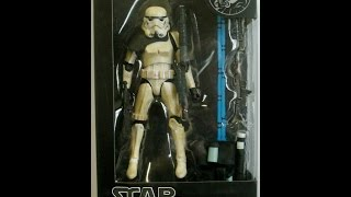 Star Wars Black Series Bootleg SandTrooper Figure Comparison