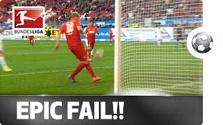 Unbelievable! Epic Fail from Less than Two Metres!