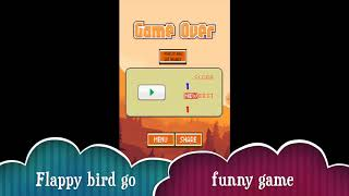 Flappy bird go Android funny game