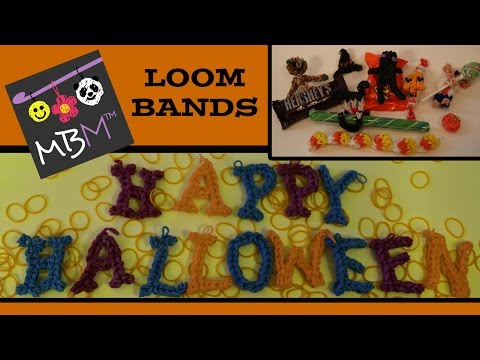 Rainbow Loom Band Halloween Charm Collection